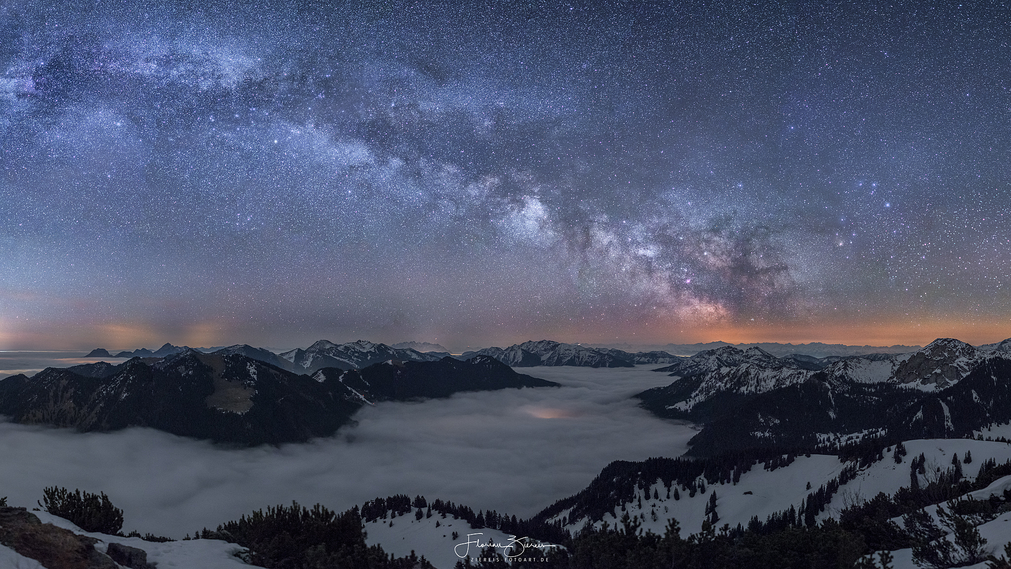 Sterne und Nachtlandschaften – Ziereis-Fotoart.de